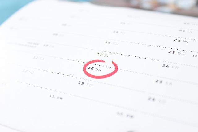 市役所採用試験の日程